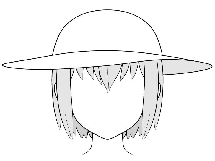 Gambar topi matahari anime