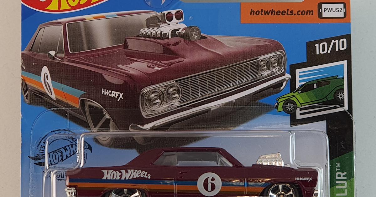 Hot Rodas - Uma colecção: 64 Chevy Chevelle SS 62-2019