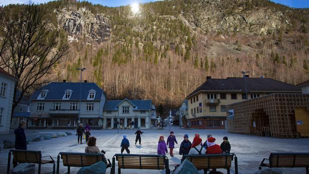 Güneş Görmeyen Kasaba: Rjukan