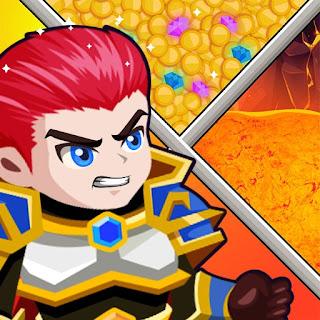 Jogo HTML5 Hero Rescue Puzzle Game gratuito