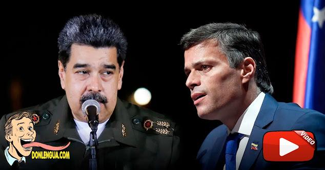 Leopoldo López volvió a decir que quiere lanzarse en unas elecciones contra Maduro