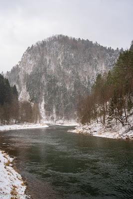 Droga Pienińska, przełom Dunajca