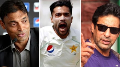 Wasim Akram, Shoaib Akhtar leave test cricket is accused of having the choice of Amir