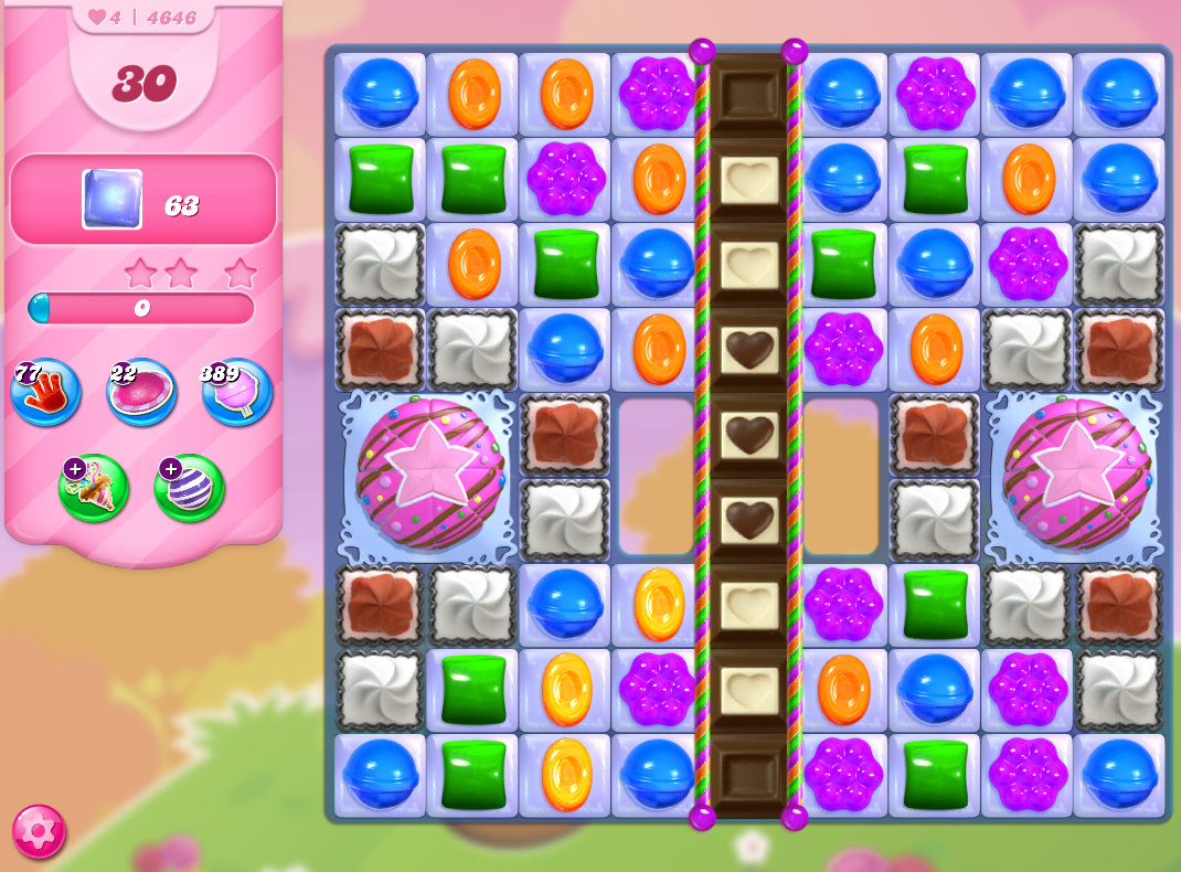 Candy Crush Saga level 4646