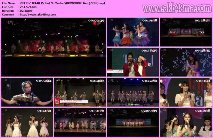 201117 JKT48 J5 Idol No Yoake
