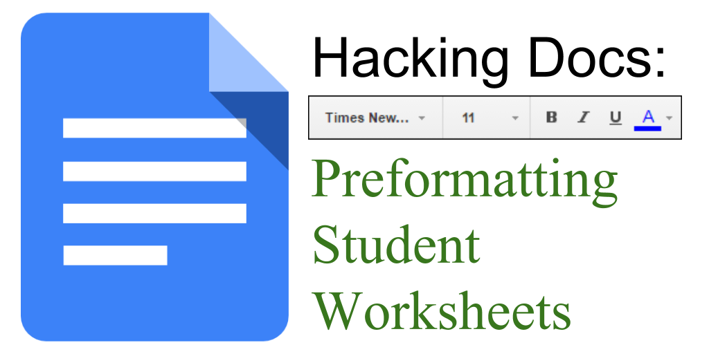 Control Alt Achieve Make Grading Easier With Preformatted Docs