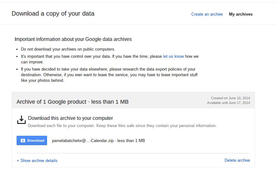 Friday Google Tidbit: Backup Your Google Drive with Google