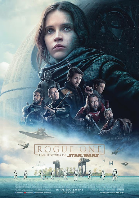 Rogue One Star wars dark vader secuela felicity jones