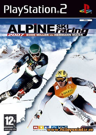 Alpine Ski Racing 2007 (PAL) Playstation 2 Tek Link