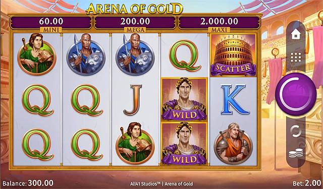 Ulasan Slot Microgaming Indonesia - Arena of Gold Slot Online