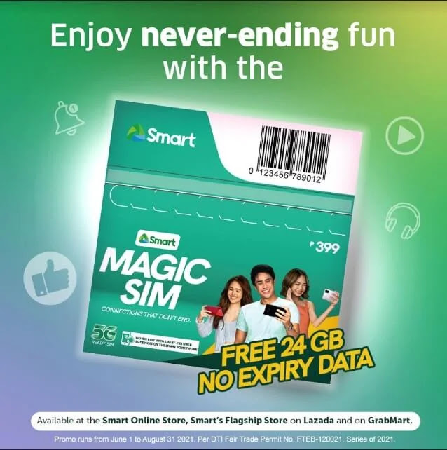 Smart Launches Magic SIM with 24GB No-Expiry Data