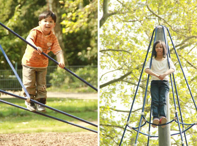 park climb net