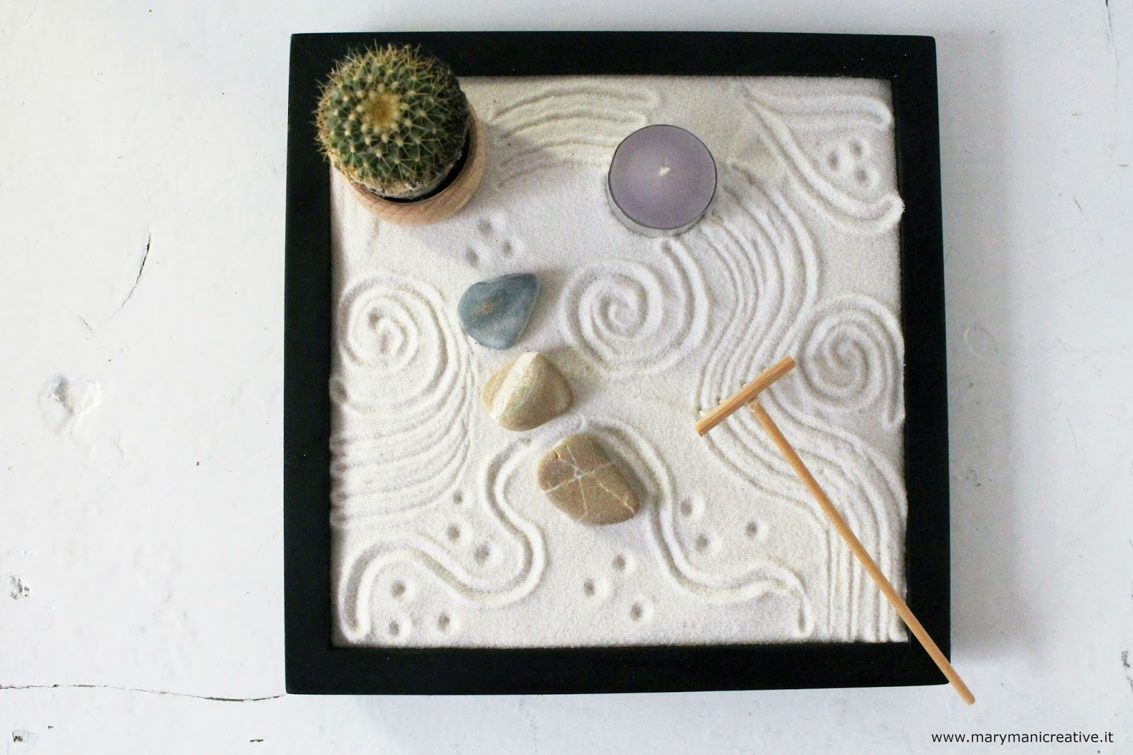 Un giardino Zen fai da te per la mamma giardiniera - DIY