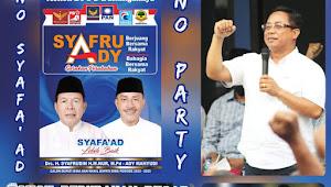 Usman AK, Herman Efendy, dan Ketua Koalisi, Maman Optimis SYAFA'AD Akan Menang.