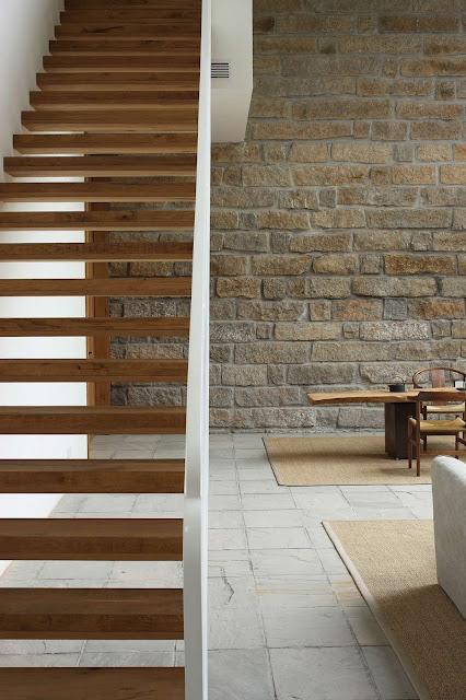 interior design under staircase