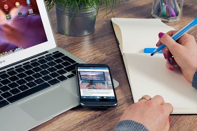 Pekerjaan online penulis lepas