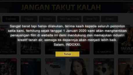 Situs Nonton Online Gratis Pengganti IndoXXI