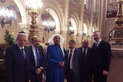 Inacreditável: Dois oficiais do alto escalão saudita estiveram em sinagoga de Paris