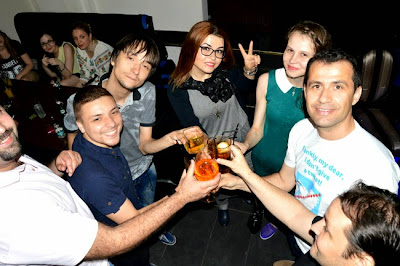 Craiova Blog Meet party cu CT, B si BV