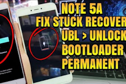 Stuck Bootloop Mi Recovery Xiaomi Redmi Note 5A Ugglite (UBL Unlock Bootloader)