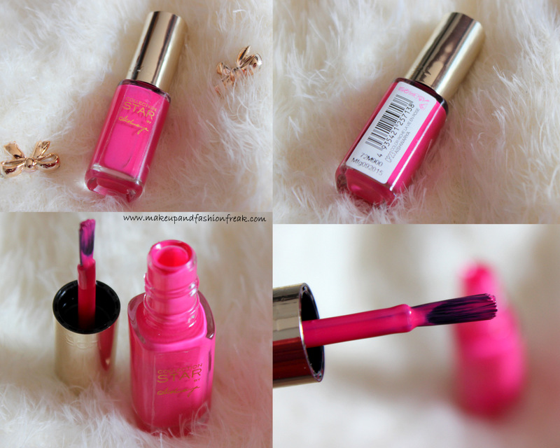 Color Riche La Vie En Rose Collection Star Nail Paint by Aishwarya