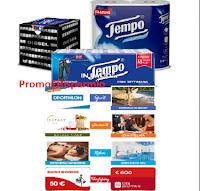 Logo Tempo ''Vinci le tue passioni'': 125 gift Decathlon, Idea Shopping e non solo (da 50€ e da 600€)