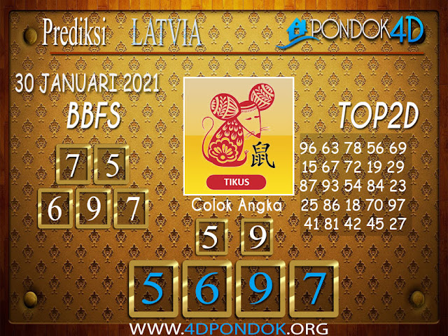 Prediksi Togel LATVIA PONDOK4D 30 JANUARI 2021