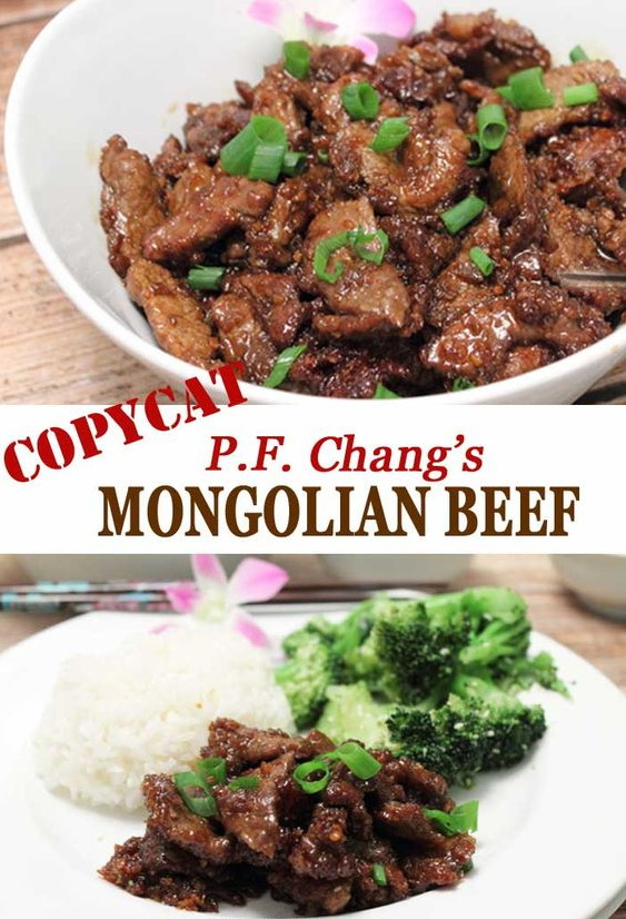 Copycat PF Changs Mongolian Beef ( Slow Cooker )