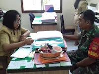 Jalin Silaturahmi, Babinsa Koramil 04/Jebres Bersama  Staf Kelurahan Sudiroprajan Inilah Tujuannya