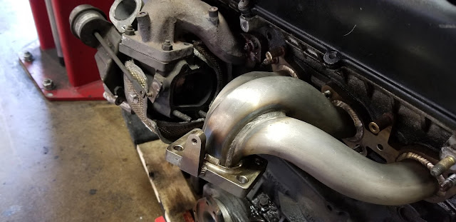 JGTC custom craft exhaust manifolds RB26 at Toprank your JDM experts