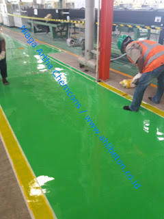 harga cat epoxy lantai line marking