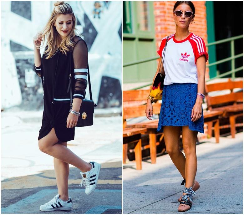 Look Fashion com Pegada Esporte jaqueta bomber blusa adidas
