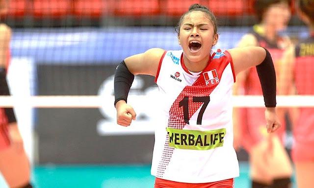 Selección Peruana de Voleibol Sub-18 clasificó al Mundial