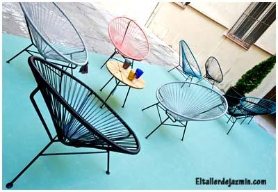 Objetos de diseo la silla Acapulco