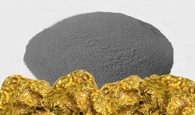 مواد ترسيب الذهب من الماء الملكي