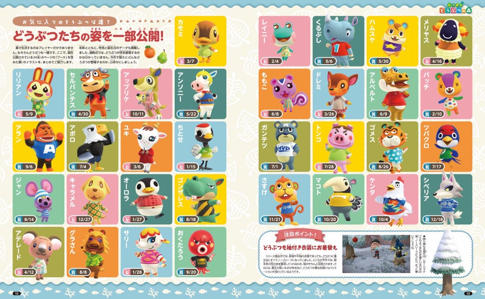 Brand New Flowers Villagers More Revealed For Animal Crossing