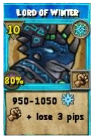 Wizard101 Ice Level 88 Spells