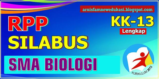 SILABUS-RPP SMA BIOLOGI KURIKULUM 2013 REVISI  2017 - 2018
