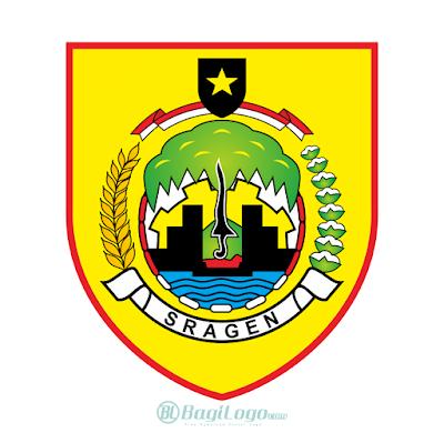 Kabupaten Sragen Logo Vector
