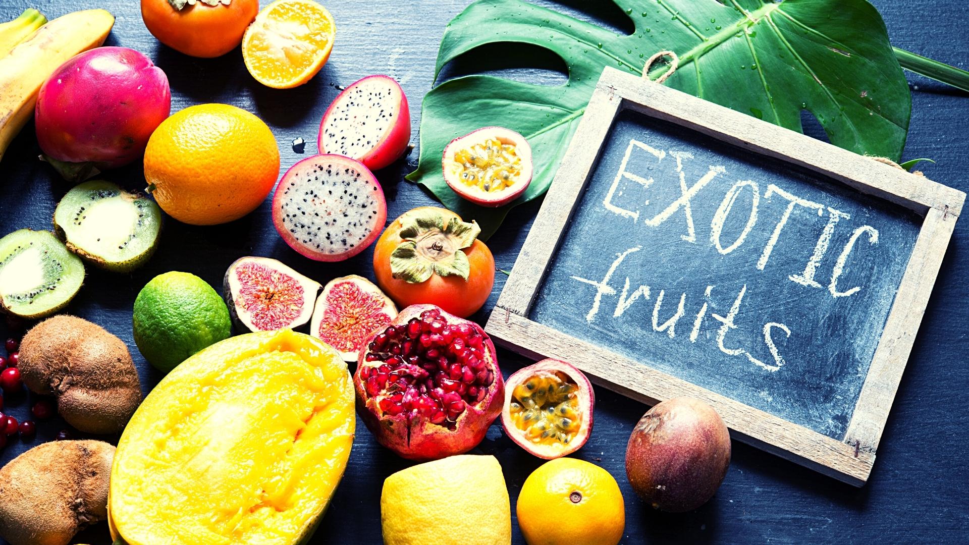 frutas mas exoticas