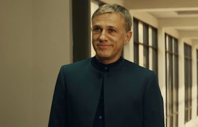Christopher Waltz as the evil genius Ernst Stavro Blofeld, Directed by Sam Mendes