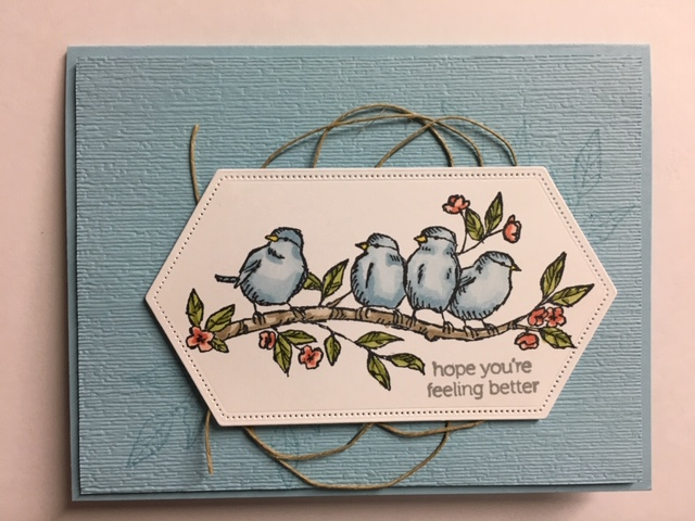 My Creative Corner!: Free as a Bird, Itty Bitty Greetings