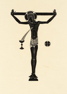 Eric Gill, Crucifix, Chalice & Host, 1915, photo (C) Tate
