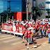 Cerca de Quinhentas Pessoas, Participaram da Caminhada Passos que Salvam, em Sinop