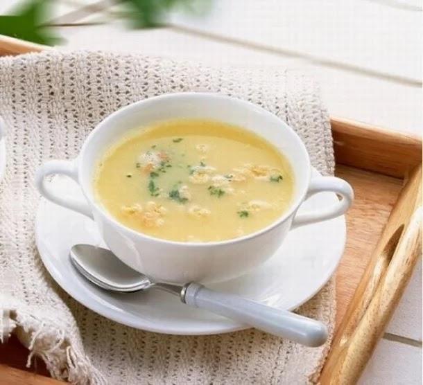 حساء الدجاج بالشوفان