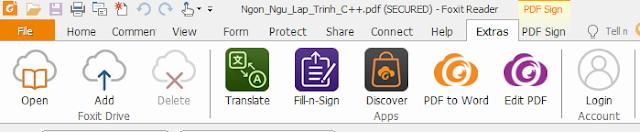 Download phần mềm đọc file PDF Foxit Reader 9.0 mới nhất ac