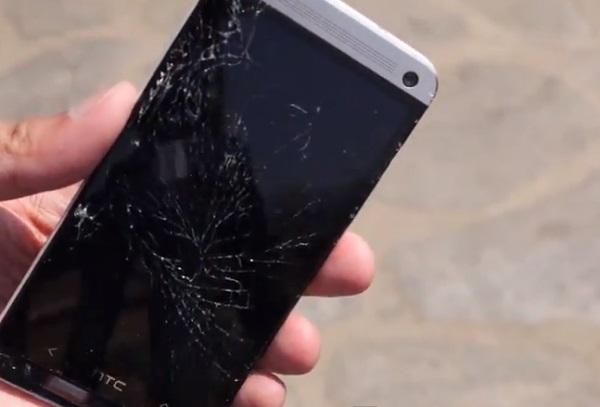 Thay mặt kính HTC One M7
