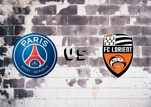 PSG vs Lorient  Resumen & Partido Completo