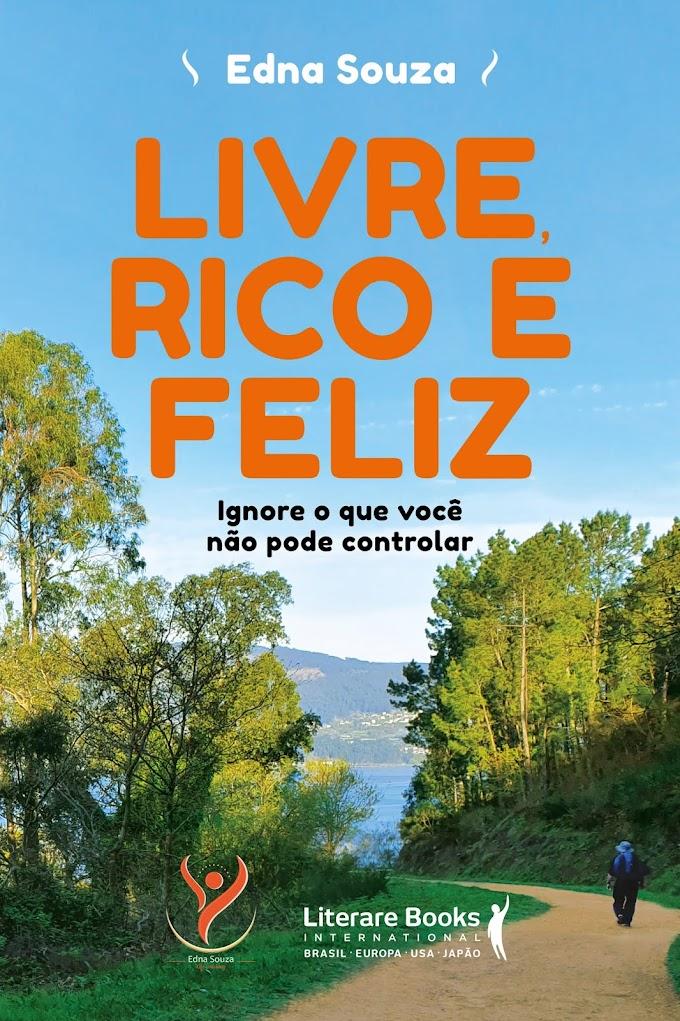 Livre, rico e feliz: livro traz mensagem de fraternidade e resiliência