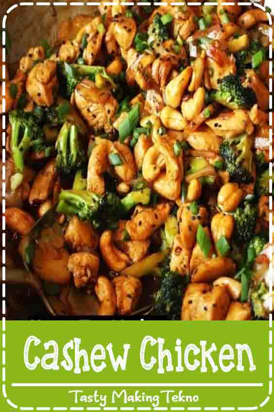 This dish is easy, ready in about 20 minutes, and loaded with flavor and so much texture. It's better than what you'd get at a restaurant. The chicken is sautéed with sesame oil for depth of flavor before adding broccoli, red bell peppers, edamame, and garlic. The vegetables stay crisp-tender and the dish is finished with cashews and a wonderful sauce that's made with soy sauce, honey, rice wine vinegar, ginger, and chili garlic sauce. The heat from the chili garlic sauce makes the chicken come to life without being overly hot and spicy. The sauce helps keep the chicken moist and tender and clings to the veggies beautifully.